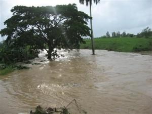 Río Santa Lucía, donde ocurrió uno de los hechos. (Foto Aramis Fernández)