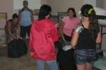En los centros estudiantiles han sido acogidas más de 3 200 personas.