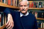 Carlos Fuentes, escritor y mexicano universal.