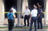 Las oficinas de Airline Brokers fueron incendiadas el pasado 27 de abril. (foto: Reuters)