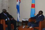 Lazo fue recibido por Joseph Kabila.
