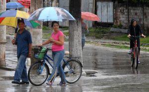 Las lluvias continuarán durante las próximas 24 y 48 horas, según especialistas del Centro Meteorológico Provincial. (foto: Oscar Alfonso)