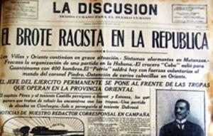 La prensa de la época calificó los hechos como una guerra de razas.