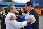 Chávez regresó a Venezuela en la tarde de este viernes 11 de mayo.