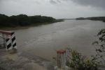 La crecida del río Zaza ha contribuido significativamente a que la presa del mismo nombre alcance un espectacular aumento de su volumen. (foto: Vicente Brito)