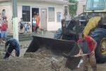 En el municipio permanece activado el Consejo de Defensa Municipal y se pasa revista a los daños.