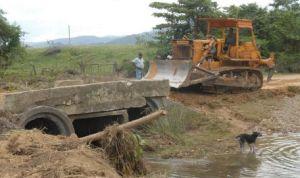 Los mayores daños en infraestructura vial se localizan en zonas rurales.
