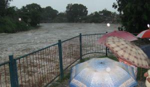 El río Yayabo reporta la segunda crecida más grande de su historia. (foto: Vicente Brito)