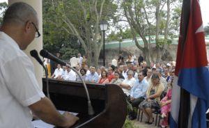 Este 4 de junio se desarrolló en Sancti Spíritus una sesión solemne de la Asamblea Municipal del Poder Popular. (foto: Vicente Brito)