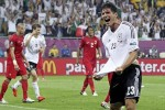 Mario Gomez aportó el gol alemán ante Portugal.