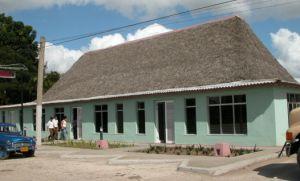El restaurante El Criollo, unidad gastronómica emblemática de Fomento fue también restaurado.