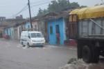 Trinidad volvió a registrar fuertes lluvias.