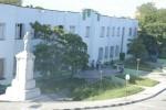 Vista exterior de la Universidad José Martí, de Sancti Spíritus.