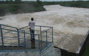 En junio la Zaza ha evacuado unos 120 millones de metros cúbicos de agua a fin de mantener el volumen previsto para la etapa.