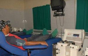 La provincia cuenta con 159 donantes de plasma, el cual se destina a la elaboración de vacunas y otros renglones farmacológicos.