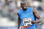 Bolt regresó a Jamaica hace solo unos días tras la gira europea en la que se impuso en tres certámenes.