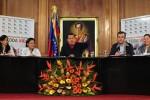 Desde el salón Ayacucho, el dignatario sancionó el Plan nacional de vigilancia y patrullaje.