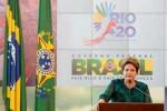 Dilma exaltó que en la Río+20 Brasil va a mostrar su más valiosa experiencia.