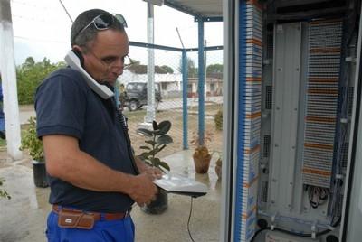 Instalan en Camagüey nuevas centrales telefónicas digitales