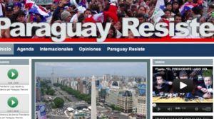 Fernando Lugo lanza el portal web ParaguayResiste.com.