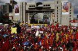 Pueblo palpitó unido en un solo corazón para acompañar inscripción de Chávez.