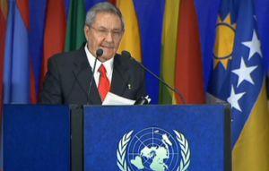 La posibilidad de la extinción de la especie humana, una realidad, expresó Raúl durante su discurso en Río+20.