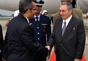 Raúl preside la delegación cubana que participa en la Conferencia de las Naciones Unidas sobre Desarrollo Sostenible Río+20. (Foto: Estudios Revolución)