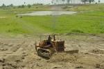 Los trabajos permitirán recuperar el almacenamiento de agua y la seguridad de la obra.