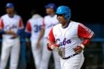 Cepeda disparó cuadrangular de dos carreras en el primer juego ante EE.UU. (Foto Marcelino VAZQUEZ/ AIN)