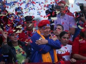 Chávez en Anzoátegui.