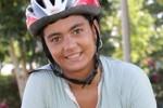 Lisandra está muy enamorada del ciclismo. (Foto: Armando Hernández)