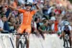 La holandesa Marianne Vos ganó la prueba de ruta en la que intervino Yumari.
