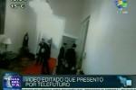 TeleSUR presentó la filmación original que demuestra que el video difundido por Telefuturo fue manipulado.