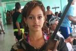 Claudia tiene 15 medallas en Juegos Escolares.