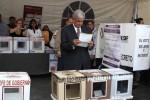 López Obrador denunció irregularidades en el proceso.