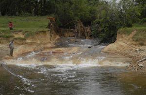 Las intensas lluvias de mayo provocaron importantes afectaciones en el Canal Magistral.
