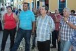 José Ramón Monteagudo, primer secretario del Partido en Sancti Spíritus estuvo presente en la inauguración de diferentes obras en Trinidad.