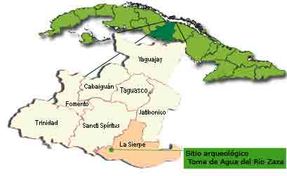 Mapa Toma de Agua