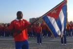El grupo está encabezado por el campeón olímpico Mijaín López, abanderado de Cuba en los Juegos.