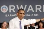 Obama durante su actual gira por Florida.