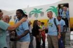 Llegada de la caravana de Pastores por la Paz a Cuba.