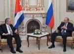 Raúl expresó su satisfacción por volver a visitar a los amigos rusos.