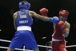 Robeisy Ramirez obtuvo la primera victoria del boxeo cubano.