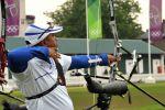 Juan Carlos Stevens, autor de récord nacional en la vuelta de ranqueo del tiro con arco olímpico.