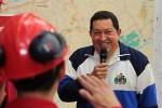 Chávez recorre Faja Petrolífera del Orinoco.