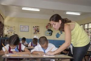 En la provincia existen alrededor de 500 instituciones del Ministerio de Educación.