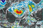 Isaac ha ganado en intensidad en el Golfo de México.