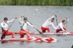 La final de la canoa biplaza en Londres se realizará este jueves.