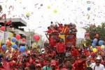 Chávez está junto al pueblo.