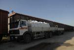 Estos camiones aseguran la distribución de varios de los productos de primer orden para la economía de la provincia.